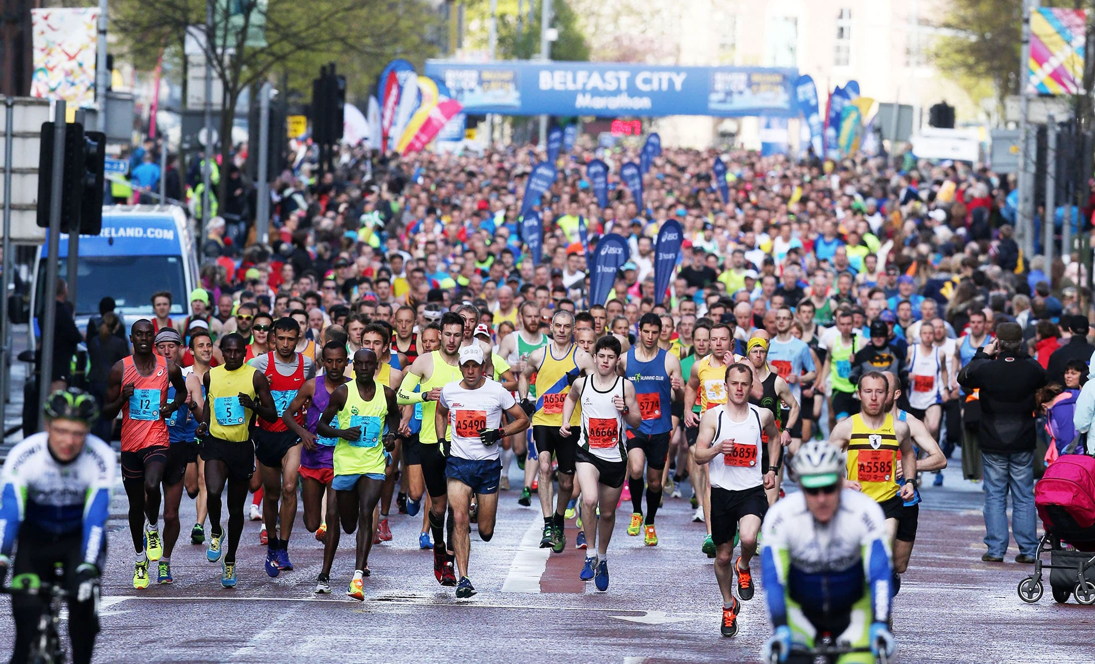 Kipsang Aiming for 4th Belfast City Marathon Victory as 3000 get ready to take on 26.2 miles