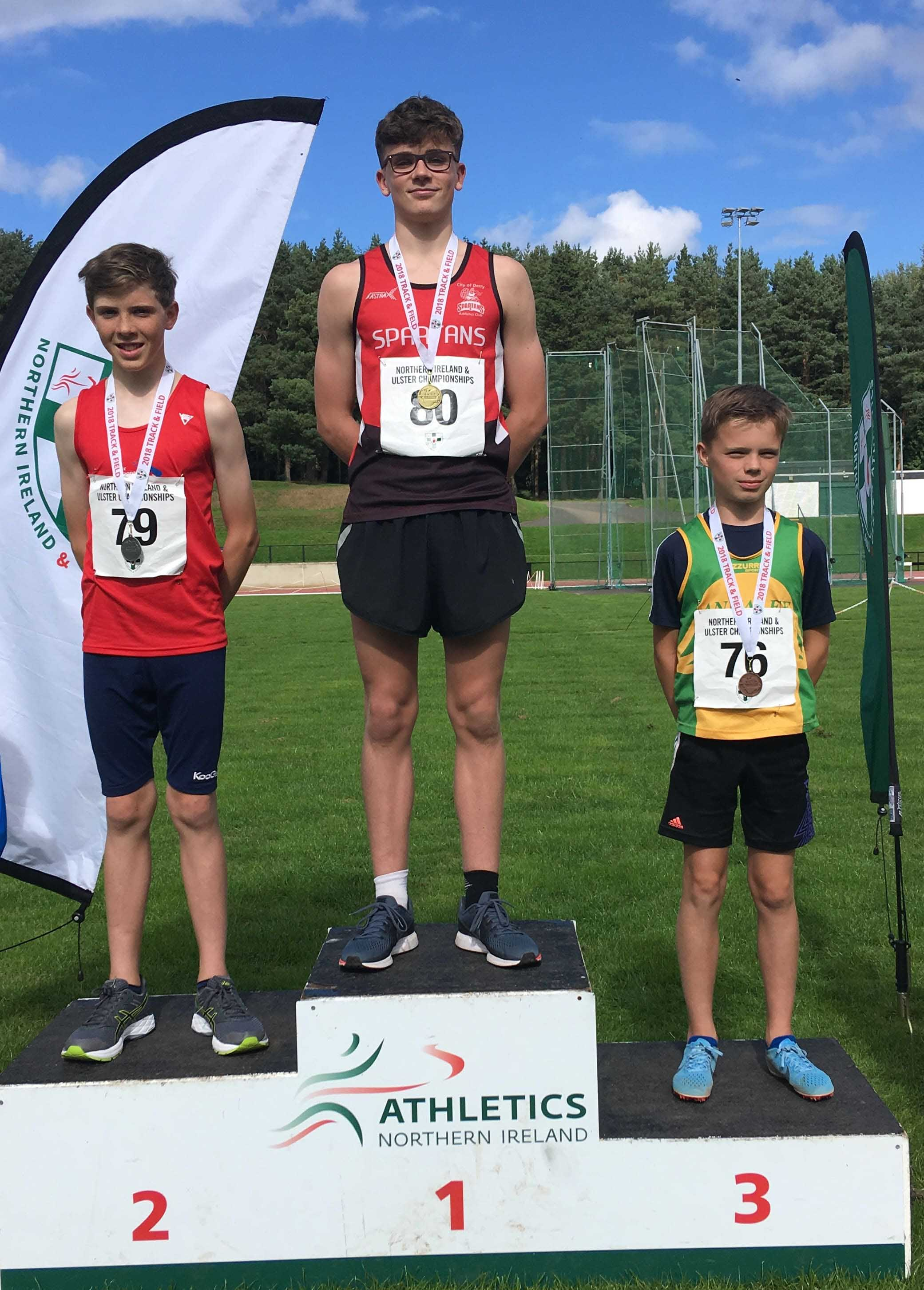 FINN ONEILL AND TROY MCCONVILLE CLAIM ALL IRELAND TITLES IN ATHLONE