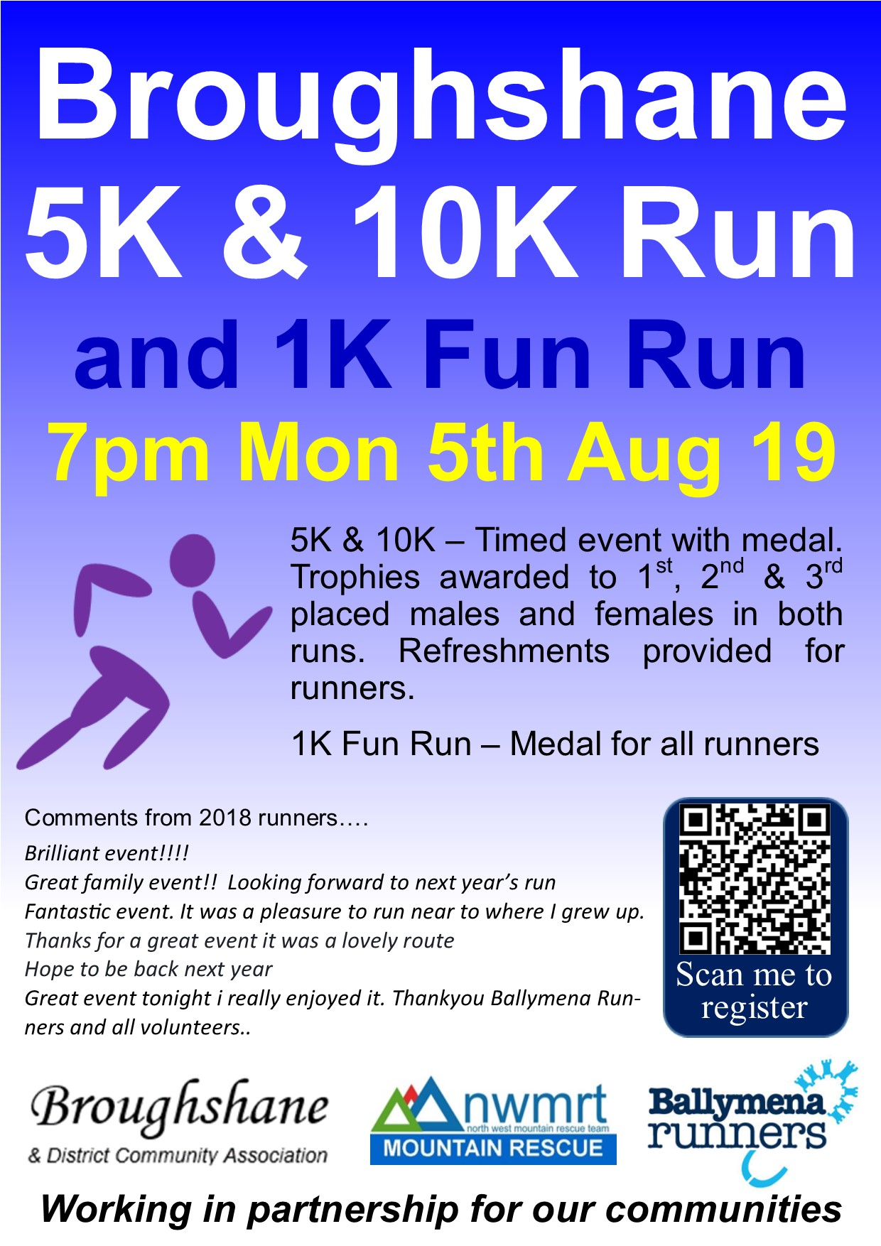 Broughshane 5k and 10k