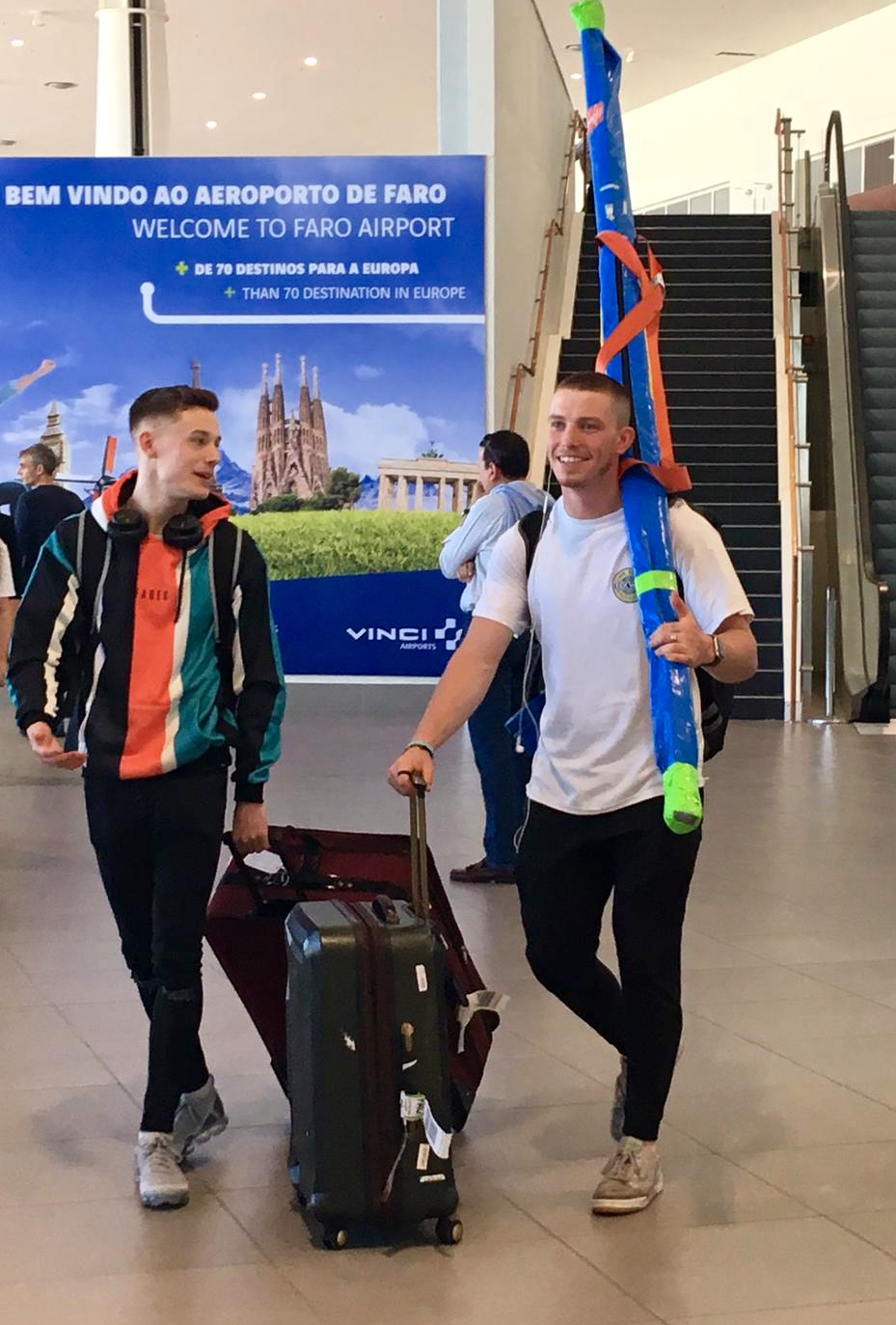 Athletes and Coaches Depart for Erasmus Camp in Portugal