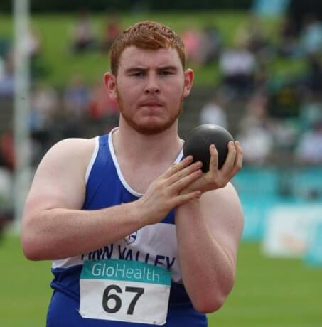 John Kelly Throws New Shot Put Record in Portugal