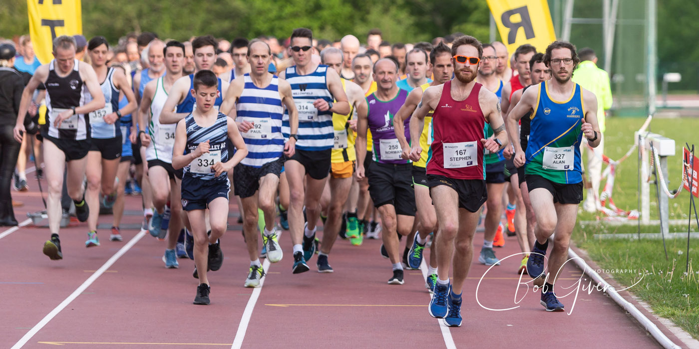 Stephen Wylie and Gemma McDonald Win at the Les Jones Memorial 10k