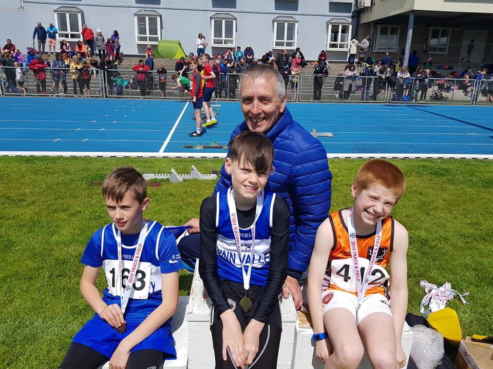 Junior Athletes Compete at NI and Ulster Childrens Games