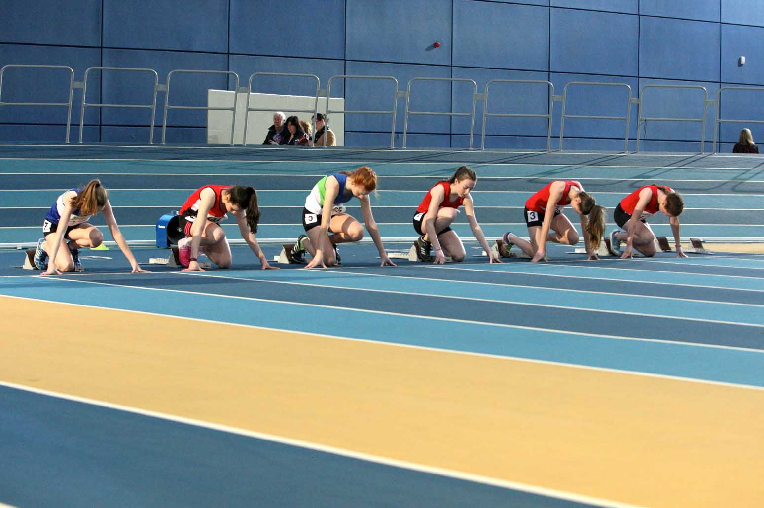 Athletics NI Host NI & Ulster Indoor Age Groups in Abbottstown