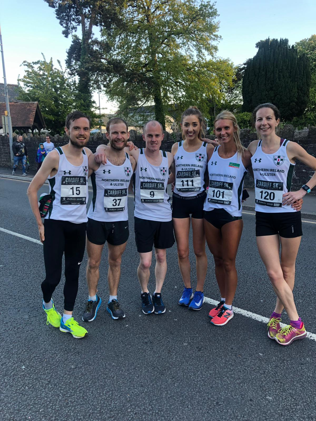 NI and Ulster Teams take Silver at Cardiff Victory 5k