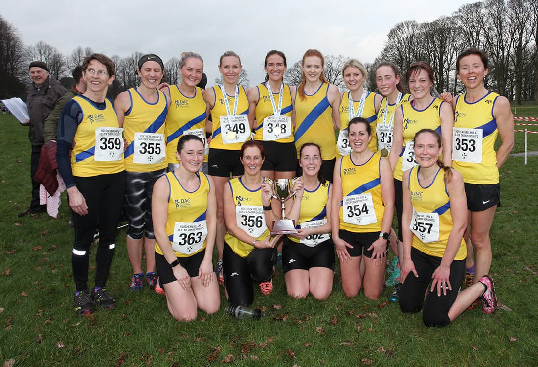 North Down AC and North Belfast Harriers Win the XC League Top Spots