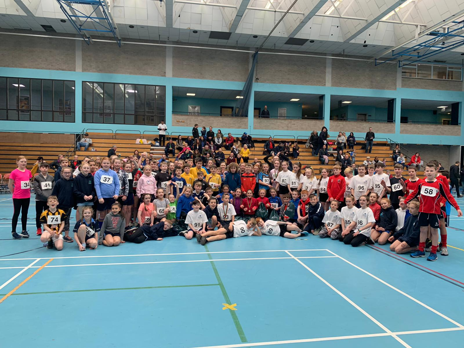112 Children Attend Sports Hall Final