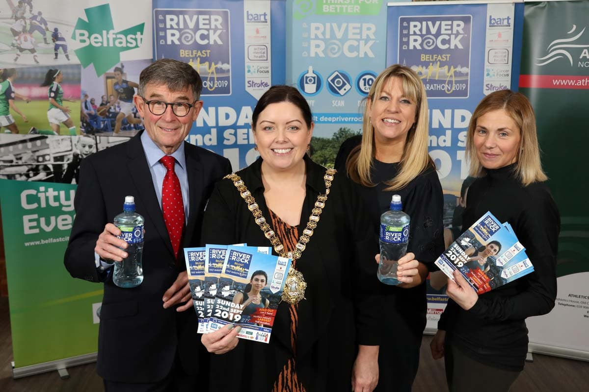 Another sell out year expected for the Deep RiverRock Belfast City Half Marathon