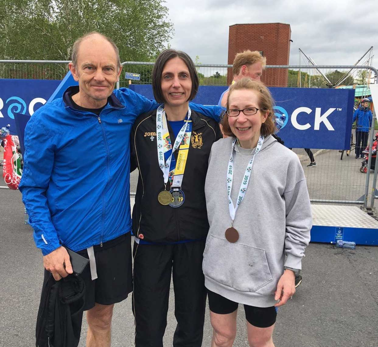 Gladys Ganiel Runs Fastest Time for NI Women at the Belfast Marathon