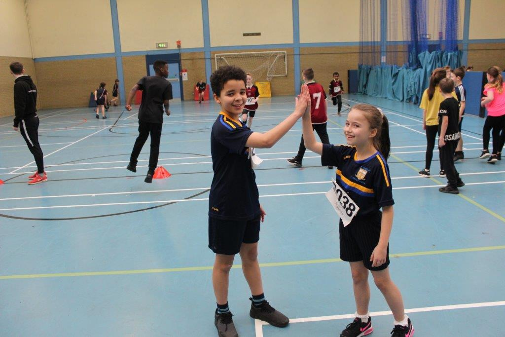 150 Children Attend Everybody Active Belfast Sports Hall Event