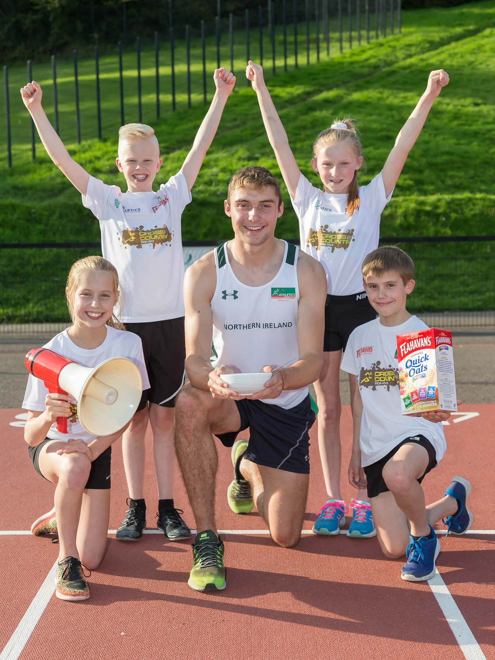 Flahavans continues to inspire oat-letes of the future with Athletics NI