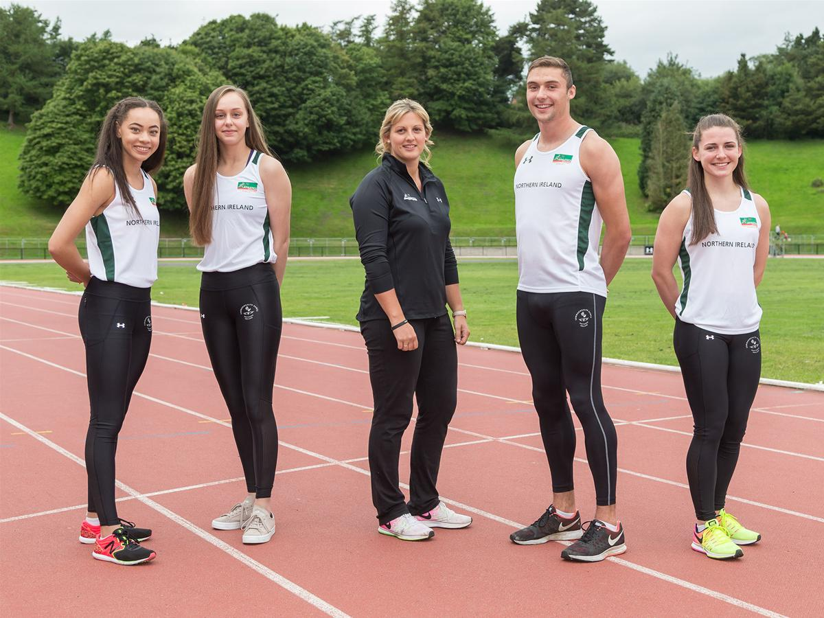 NI Team Depart for Commonwealth Youth Games in Bahamas