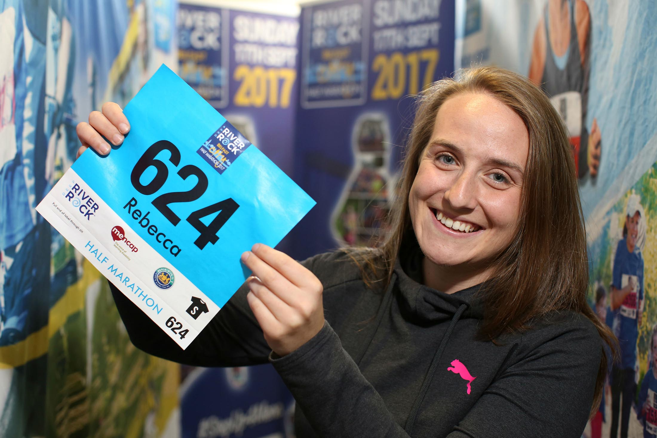 Last Chance to Personalise Your Race Number for the Deep RiverRock Belfast City Half Marathon