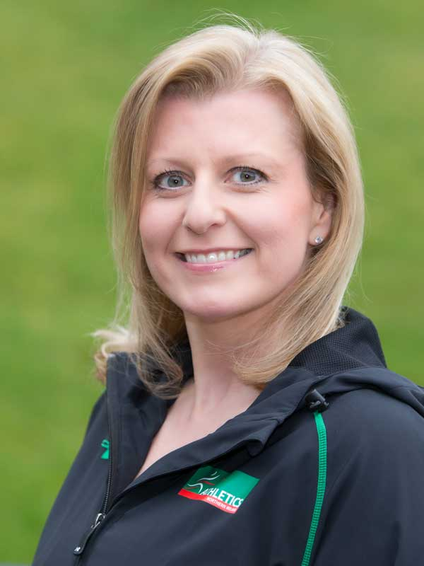 Kerry Woods, Athletics NI Business & Operations Manager