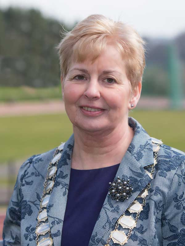 Pam Brown, President Athletics NI