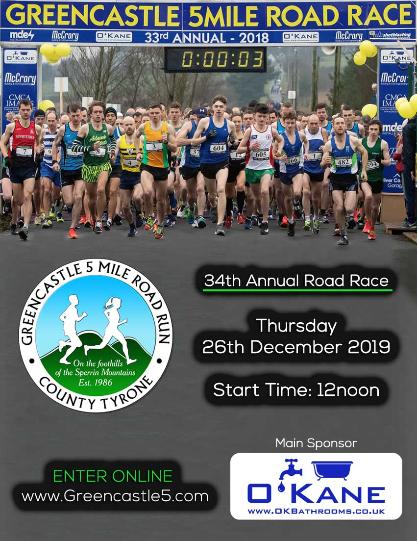 34th Greencastle 5 Mile Road Race