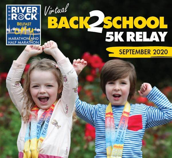 Deep RiverRock launches Back 2 School 5k Virtual Relay for ALL