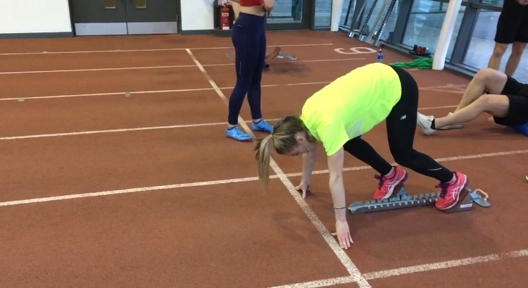 Event Group Sprints & Hurdles Squad for Athlete-Coach Pairs - Day 1 to take place on Sunday 9th
