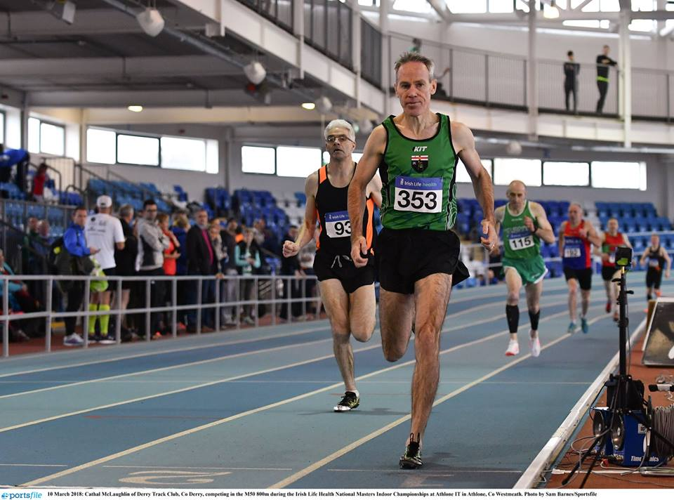 Local athletes secure impressive medal haul at Irish Life AAI National Masters Indoor Championships