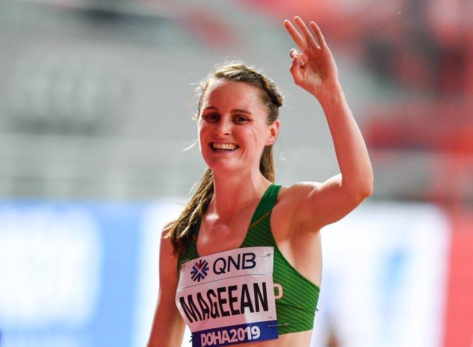 Ciara Mageean Named Irish Athlete of the Year