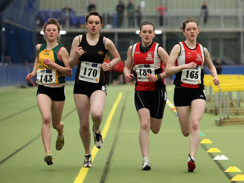 NI and Ulster Indoor Age Group Championships