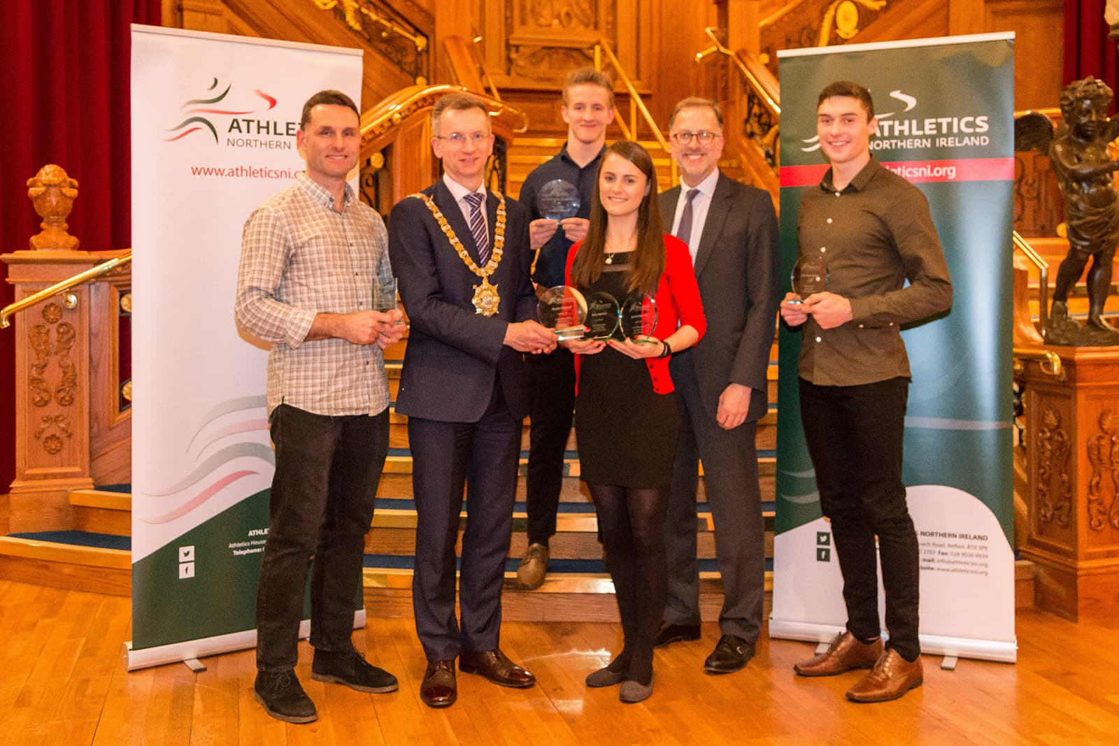 Coaches, Clubs, Officials and Volunteers Celebrated at Annual Awards Evening