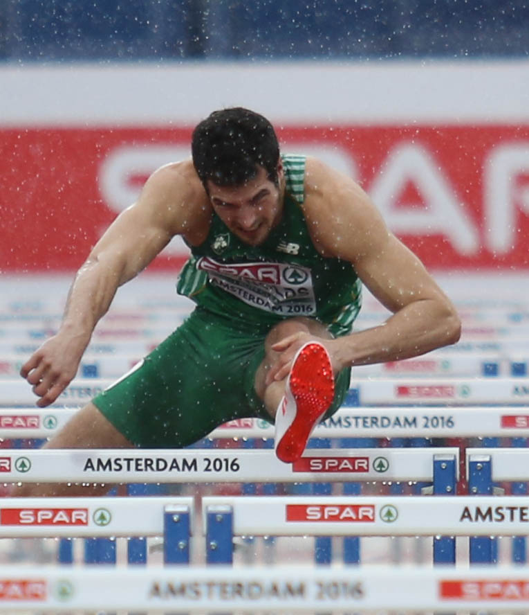 Seasons best for Reynolds at the European Championships