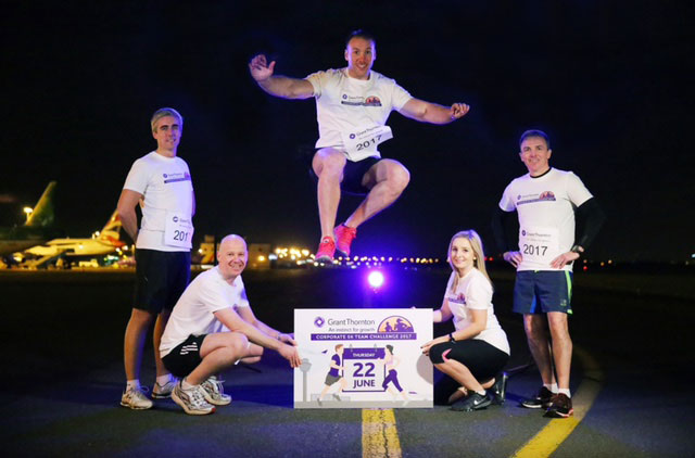 BUSINESSES URGED TO LINE OUT FOR THIRD YEAR OF GRANT THORNTON RUNWAY RUN