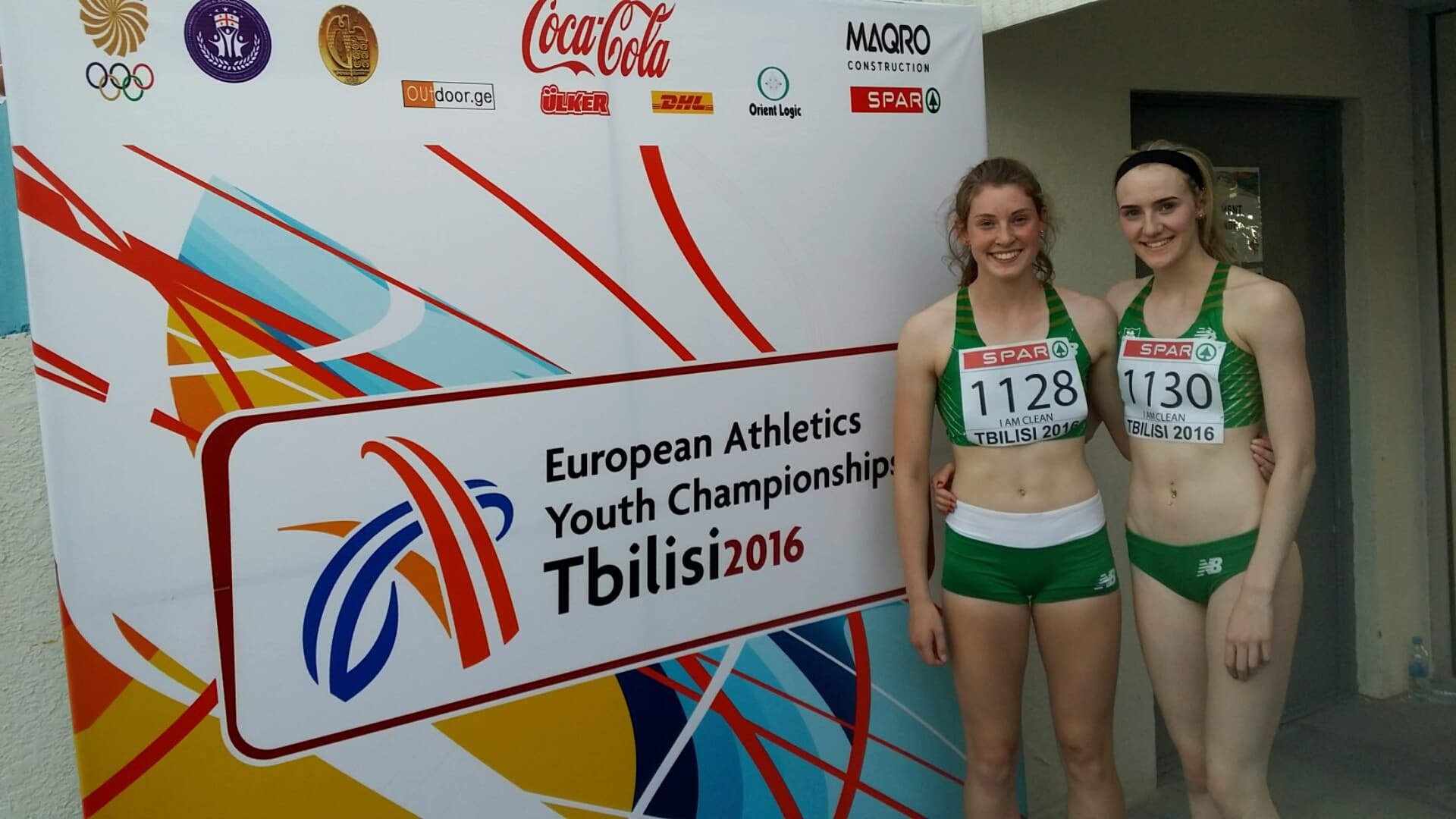 Talented Young NI Athletes make their mark at European Youth Championships in Tibilisi