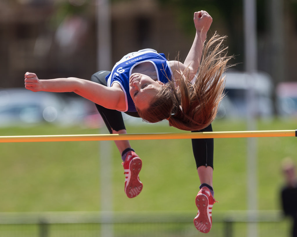 Sommer Lecky Soars to Victory at Ulster Schools Athletics Championships