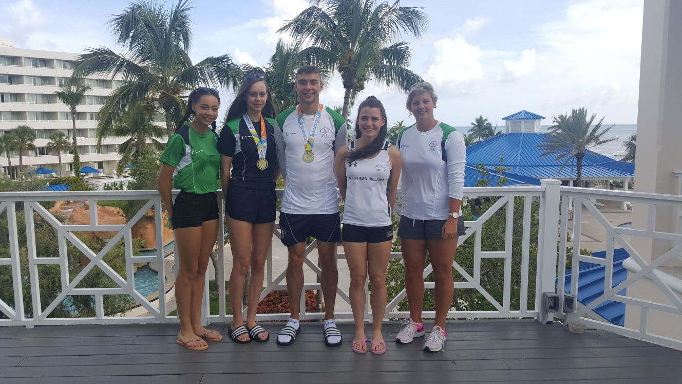 Most successful CYG for NI Athletics ever as medallists return home with Two Golds