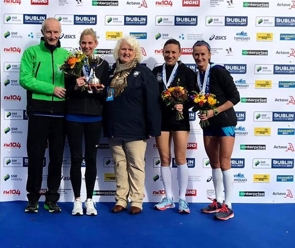 Laura Graham Retains AAI National Marathon Title in Dublin