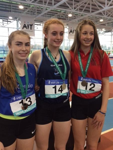 NI and Ulster Athletes Excel at Irish Schools Multi Events Championships
