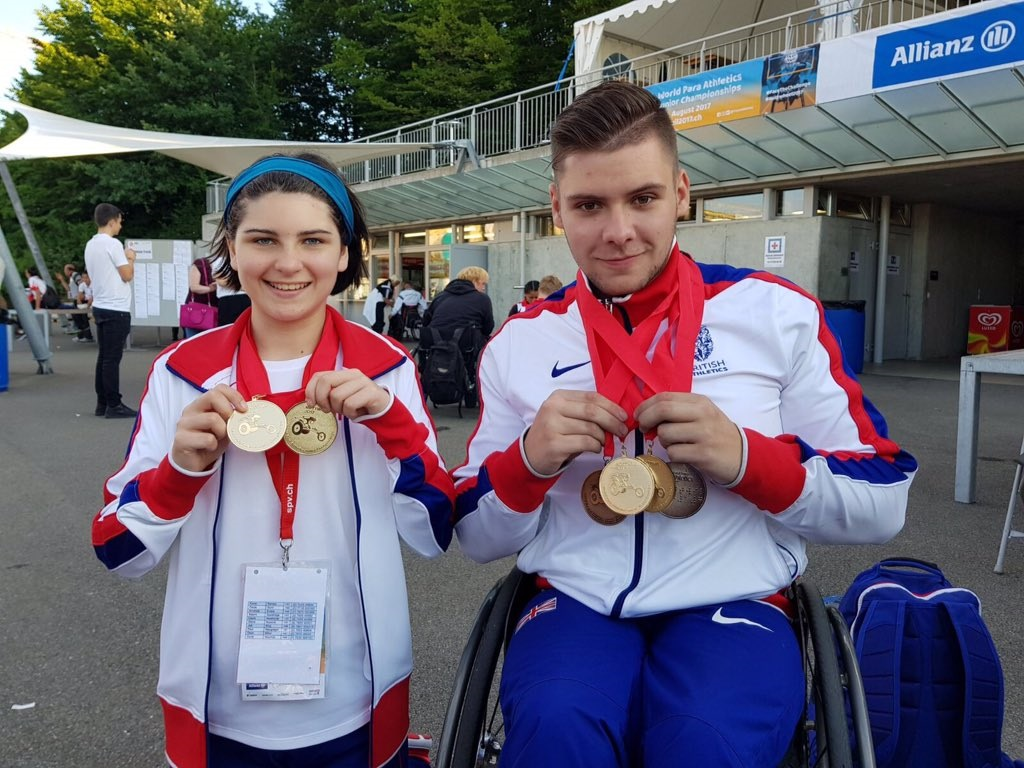 Six Medals for NI Stars at World Para Athletics Junior Championships