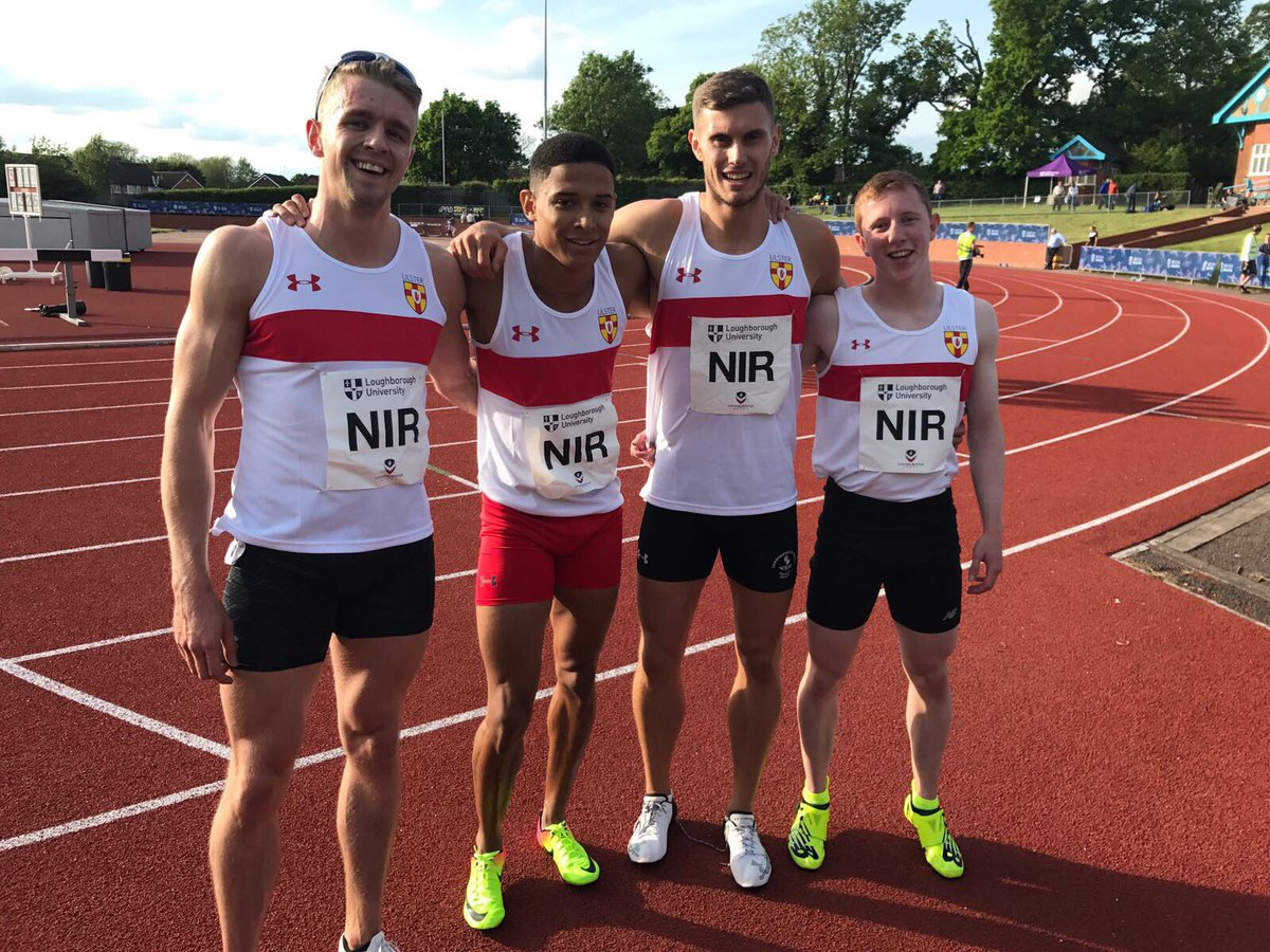 Local Athletes Secure PBs at Loughborough International
