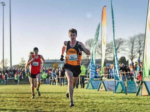 Paul Pollock leads the way at AAI National Senior XC Championships