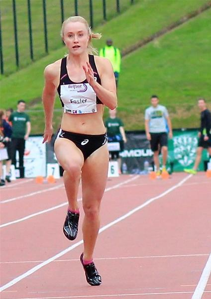 Amy Foster and Adam McMullen Enter the Record Books as Local Athletes Impress