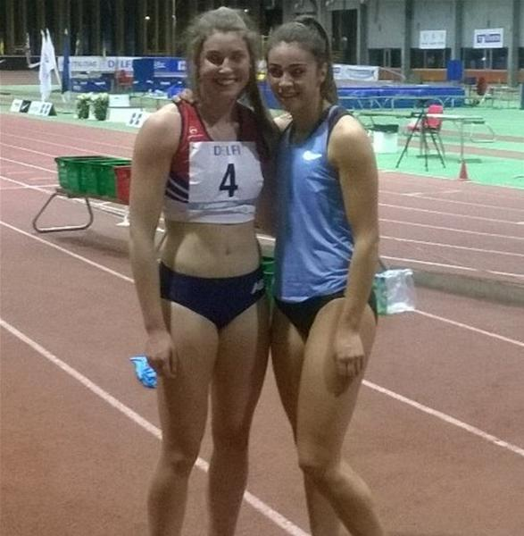 Kate OConnor improves Irish Record as Megan Marrs edges close to World Indoors Standard
