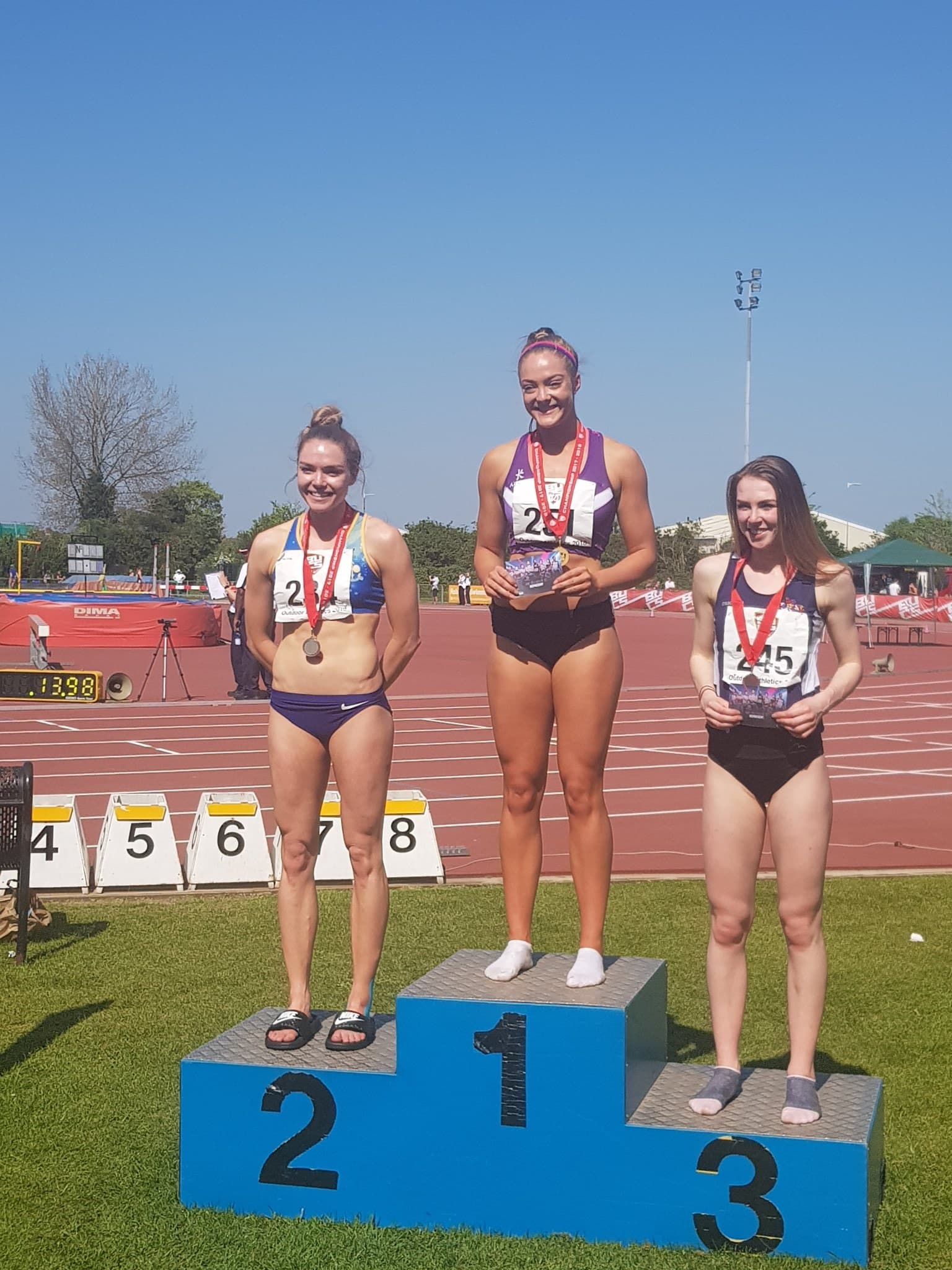 National Junior Record & BUCS Success for Local Athletes