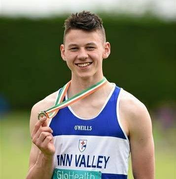 James Kelly secures IAAF World Junior Championships standard in Donegal
