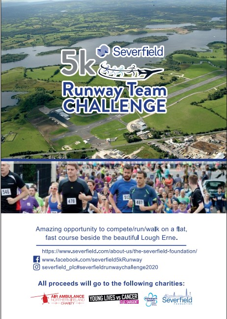 Severfield 5km Runway Team Challenge 2020