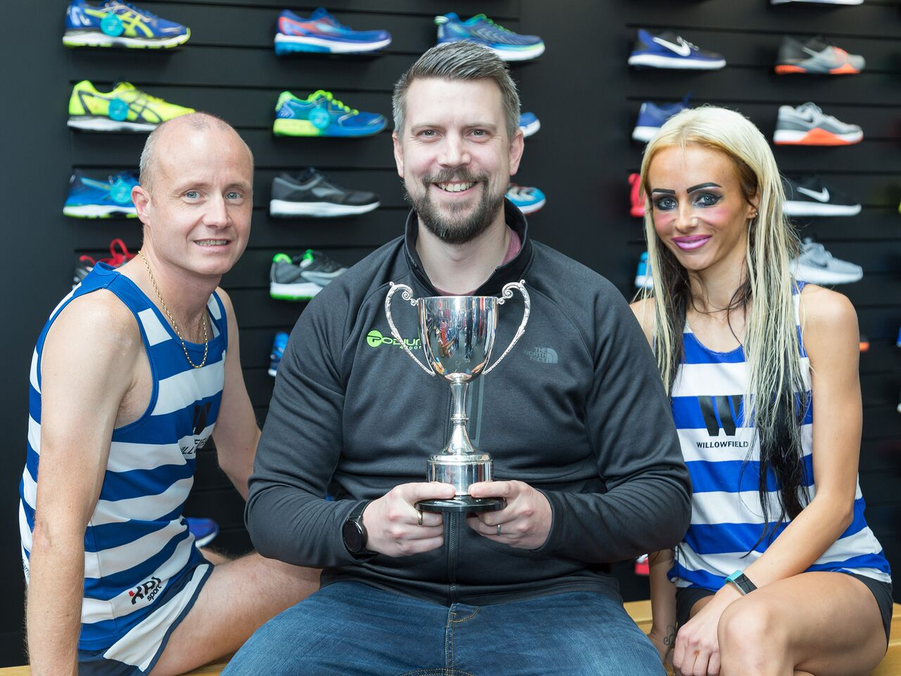 Willowfield Athletes Amy Bulman and Thomas Carson Launch the 36th Podium 4 Sport Seeley Cup 10K