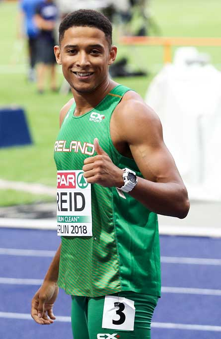 7th for Leon Reid in European Championship Final