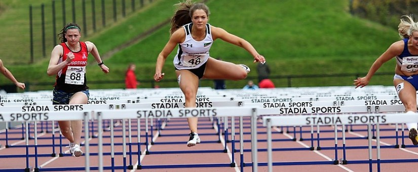 HURDLERS MARRS AND REYNOLDS LAND WORLD INDOOR ATHLETICS SELECTION