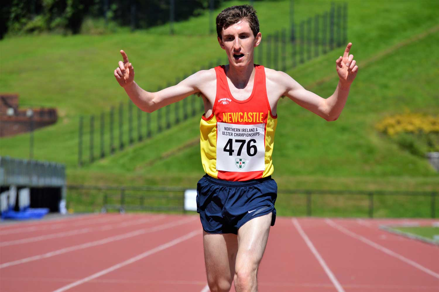 Totten and Murphy crowned NI andUlster 10 000m Champions