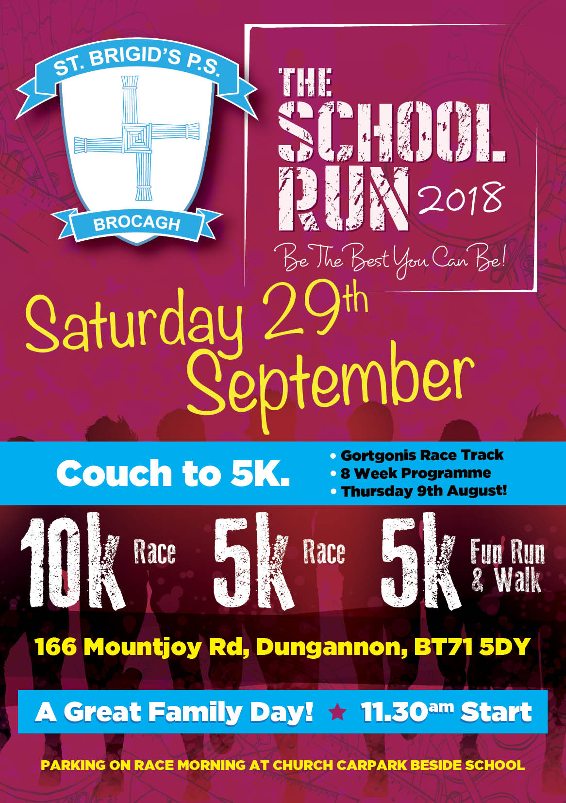 The Brocagh School Run 5k and 10k